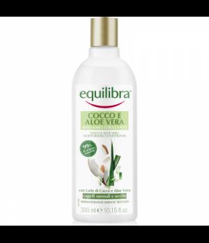 Equilibra Cocco&Aloe Vera Balsamo Idratante Capelli Normali E Secchi 300 Ml