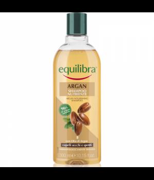 Equilibra Argan Shampoo Nutriente Capelli Secchi E Spenti 300 Ml