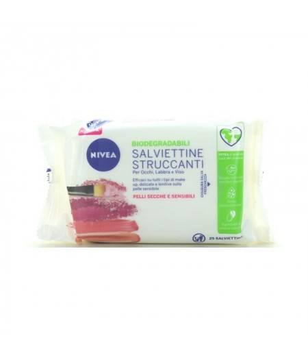 Salviettine Struccanti Delicate Per Pelli Sensibili 25 Salviette