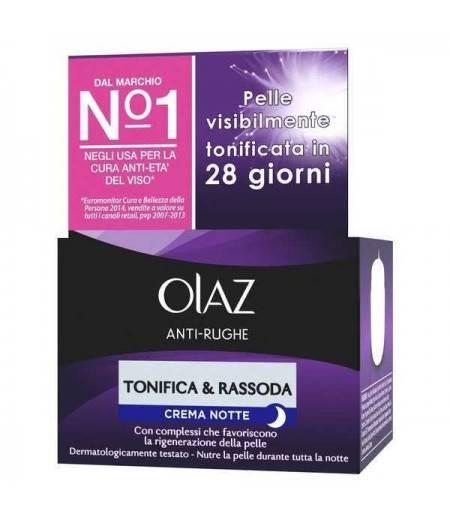 Antirughe Tonifica e Rassoda Crema Notte 50 ml