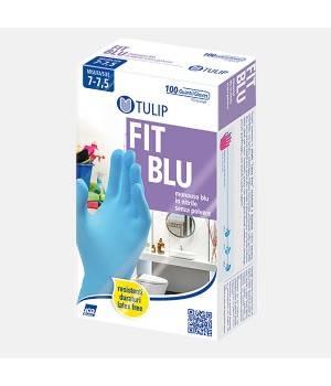 Guanti monouso nitrile colore blu - misura S 100 paia