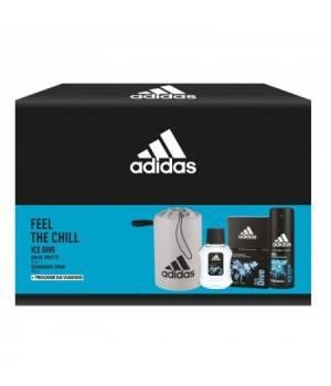 Adidas Confezione Ice Dive Edt 50 + Deodorante + Beauty