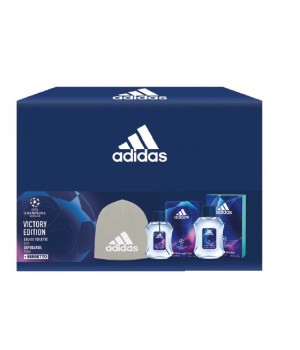 Adidas Uefa5 Uomo Kit 428 Edt+ After shave + Berretto