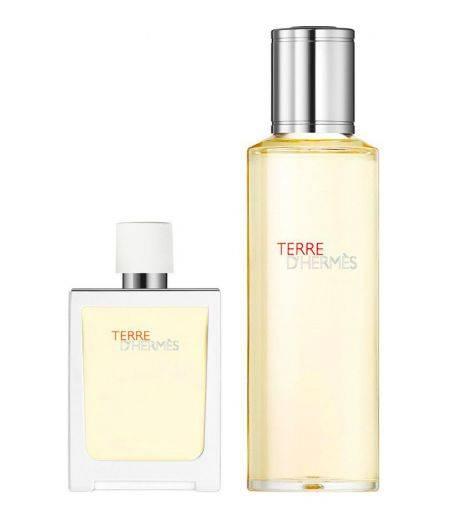 Terre d'Hermès Eau Tres Fraîche - Eau de Toilette 30 ml  + Ricarica 125 ml