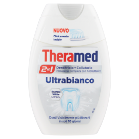Image of 2in1 Dentifricio + Collutorio Ultrabianco 75 ml