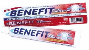 Image of Dentifricio Benefit Protezione Totale Dei Denti 75 Ml