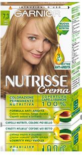 Image of Tinta Per Capelli Colorazione Permanente Per Capelli Nutrisse N 7,3 Biondo Miele Dorato
