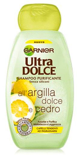 Ultra Dolce Shampoo Purificante Argilla Dolce E Cedro 300 Ml